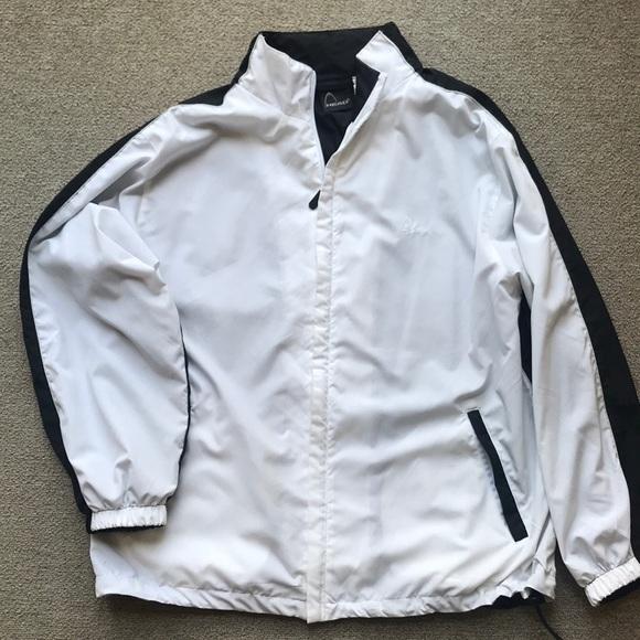 Head Jackets & Blazers - HEAD VINTAGE TRACK WARM UP JACKET BLACK WHITE L